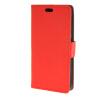 MOONCASE Vivid colors Leather Wallet Card Slot Bracket Back чехол для HTC Desire 320 D320 Red htc desire 650