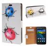 все цены на MOONCASE Huawei Ascend Y635 ЧЕХОЛДЛЯ Flip Wallet Card Slot Stand Leather Folio Pouch /a06 онлайн