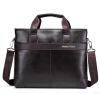 Знаменитый дизайнер ПОЛО Бренды Мужские деловые портфели Кожаные наплечные сумки для 14-дюймовой сумки для ноутбука Большая сумка для путешествий сумки для ноутбука