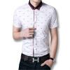 мода мужчин рубашки новоприбывших мужские сорочки 2016 летом короткие рукава случайных мужчин включен рубашки полнят 2 цвета и размера 5xl ночные сорочки и рубашки