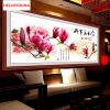 DIY 5D Бриллиантовая мозаика Волшебный куб Алмазная живопись Крестная вышивка Семья Гармония Магнолия Богатые цветы Бриллианты Вышивка