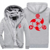2018 New Anime NARUTO Akatsuki Clothing Thicken Jacket Cosplay Sweatshirts Hoodie Luminous USA Size fast ship 5-10 days arrive usa ship