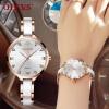 Женские часы OLEVS с керамическим покрытием Роскошные золотые женские наручные часы Япония импортирует кварцевые часы движения Relogio Feminino new