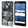 MOONCASE Personality style Hard Rubber Shell Back чехол для Cover Huawei Honor 7 грей mooncase wooden style hard rubber shell back чехол для cover huawei ascend p8 lite beige