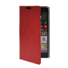 MOONCASE Slim Leather Side Flip Wallet Card Slot Pouch Stand Shell Back ЧЕХОЛДЛЯ Nokia Lumia 830 Red nokia lumia 830 for nokia lumia 830
