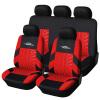 AUTOYOUTH Чехлы На Сиденья Автомобиля Универсальный Цвет Серый Красный Серый 9Шт
