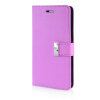 MOONCASE Leather Side Flip Wallet Card Slot Pouch Stand Shell Back ЧЕХОЛ ДЛЯ Samsung Galaxy Note 4 N9100 Purple чехол для для мобильных телефонов oem samsung 4 iv n9100 note4 for samsung galaxy note 4 n9100