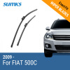 SUMKS Wiper Blades for FIAT 500C 24&14 Fit Push Button Arms 2009 2010 2011 2012 2013 2014 2015 2016 2017 wiper blades for fiat ulysse 26