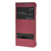 MOONCASE Samsung Galaxy A8 чехол для View Slim Leather Flip Pouch Cover Red чехол для сотового телефона takeit для samsung galaxy a3 2017 metal slim металлик