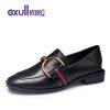 exull Женская Кожаная Обувь женская обувь для одной обуви женская обувь flattie кожаная обувь asakuchi одиночная обувь