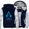 Новый костюм убийцы Unise для Assassin Creed Unity напечатайте Hoodie 2018 горячие мужские пальто зимы флиса свободную перевозку г игра для xbox xboxone assassin s creed unity