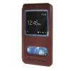 MOONCASE Samsung Galaxy Note 4 Edge чехол для View Leather Flip Pouch Bracket Back Cover Red чехол клип кейс samsung protective standing cover great для samsung galaxy note 8 темно синий [ef rn950cnegru]