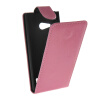 MOONCASE Smooth skin Leather Bottom Flip Pouch чехол для Nokia Lumia 730 Hot pink nokia 6700 classic illuvial pink киев