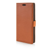 MOONCASE Litch Skin Leather Side Flip Wallet Card Slot Pouch Stand Shell Back ЧЕХОЛДЛЯ LG G3 Stylus D690 Brown mooncase litch skin leather side flip wallet card slot pouch stand shell back чехолдля apple iphone 6 plus brown