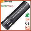 9 LED Flashlight Handy Mini Camping Tent Pocket Portable Light Super Bright Powerful Best Gift Present Bicycle Cycling Fishing Tor