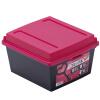 [Супермаркет] Джингдонг Ямада импортирован пластиковая коробка для хранения рабочего стола ящика для хранения роза красной снэк DVD коробка dvd