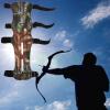 Камуфляж Арчер Armguard рычаг Гвардии Protector Стрелялки композитный лук стрельба из лука лук рука гвардии защита предплечья сейф 3 ремень камо кожи новая