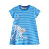 Детская одежда для девочек Летняя одежда для детей 2018 Платье для беременных женщин-принцесса Вестидос для детей Единороганные платья для детей Dropshipping