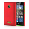 MOONCASE Hard Rubberized Rubber Coating Devise Back ЧЕХОЛ ДЛЯ Nokia Lumia 532 Red nokia cc 3096 чехол для lumia 435 532 white