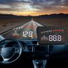 Х5 3-дюймовый автомобильный Head Up Display OBD2 II Скорость Расход топлива сигнализация 5 5 car obd2 ii