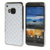 MOONCASE HTC One М9 Футляр Роскошные Chrome горный хрусталь Bling Звезда Вернуться Дело Чехол для HTC One M9 Белый htc one в рассрочку дешево
