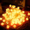 JULELYS 10M 80 Bulbs Garland Battery Powered Декоративные светодиодные лампы Ball Christmas String Lights Украшение для свадебного отдыха waterproof 9m vintage patio globe string lights black cord clear glass bulbs 30 decorative outdoor garland wedding
