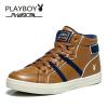 • Playboy бренд зимой новые случайные, высокий топ - Sneaker, ботинки, мужские ботинки