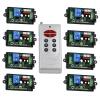 MITI 433 ВЧ передатчик и приемник с кодом 220, 8-канальный беспроводной пульт дистанционного управления 1 передатчик + приемник 8 futaba r2004gf приемник 4 канальный