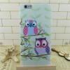 Мягкий TPU Чехол для iPhone 5 5S/ 6 6S/ 6 Plus 6S Plus Милая Сова pocket monster embossing hybrid acrylic tpu shell for iphone 6s 6 pikachu