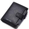 HAUTTON укороченный мужской кошелёк бычьей кожи, многофункциональный футляр для хранения денег, карты, барсетка рюкзак hautton рюкзак