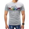 Мужчины 2018 Марка с коротким рукавом печати PatternT рубашки O-образным вырезом Slim Мужская футболка Tops Мода мужская футболка Футболка футболка мужская