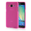 MOONCASE Transparent Soft Flexible Silicone Gel TPU Skin Shell Back ЧЕХОЛ ДЛЯ Samsung Galaxy A5 Hot Pink mooncase s line soft flexible silicone gel tpu skin shell back чехол для htc one m9 blue
