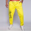 2016 случайные свободные хлопка мужчин брюки моды спортивные мужские бегуны трусцой Хип-хоп брюки мужчины длинные брюки
