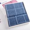 Матовые полотенце текстильного хлопок окрашенной пряжи Добби Sacred квадратных полотенца, банные полотенца из трех частей коробки красного подарка полотенца банные яблоки и яблони полотенце зайчонок