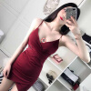 Горячее Cat cupidcat Sexy Sexy Lingerie Sexy Slim Pack Hip Strap Dress Cross Fold Ночной клуб Dress 8114 sexy girl sg0055