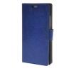 MOONCASE Гладкая кожа PU кожаный чехол бумажник флип карты отойти чехол для Huawei Ascend P8 Lite синий mooncase мягкая кожа pu бумажник флип карты отойти кожаный чехол для huawei ascend p8 red
