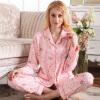 Шали Вэй жа пижамы обслуживание на дому пижамы, как верхняя одежда плед с длинными рукавами хлопок кардиган костюм спортивный костюм 3411 SLW34N11 женский розовый M спортивный костюм fila 14 25413730 3760