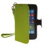 MOONCASE Лич кожи Кожа Флип сторона кошелек держателя карты Чехол с Kickstand чехол для Nokia Lumia 520 Зеленый mooncase лич кожи кожа флип сторона кошелек держателя карты чехол с kickstand чехол для lg l70 зеленый