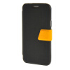 MOONCASE Side Flip Hard board Slim Leather Bracket Window чехол для Cover Samsung Galaxy S5 Mini чёрный чехол для samsung galaxy s5 printio череп художник