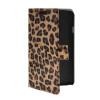 MOONCASE Slim Leather Side Flip Wallet Card Slot Pouch Stand Shell Back ЧЕХОЛДЛЯ LG F70 Leopard