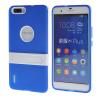 Цвет MOONCASE Huawei Дело Желе силиконовый гель ТПУ Тонкий с подставкой обложка чехол для Huawei Honor 6 Plus синий