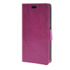 MOONCASE Smooth PU Leather Flip Wallet Card Slot Bracket Back чехол для HTC Desire 320 Purple htc desire 320 8gb dark gray