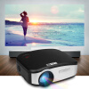CHEERLUX мини светодиодный проектор 800x480 1200 люмен 1200: 1 HDMI / USB / VGA / AV / DTV EU cheerlux мини светодиодный проектор 800x480 1200 люмен 1200 1 hdmi usb vga av dtv eu