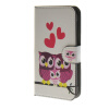 MOONCASE Owl style Leather Wallet Flip Card Slot Stand Pouch чехол для Samsung Galaxy Xcover 3 SM-G388F A15 luxury stand flip