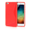 MOONCASE S - Line Soft Flexible Silicone Gel TPU Skin Shell Back ЧЕХОЛ ДЛЯ XiaoMi Mi Note Pro Red embossed tpu gel shell for ipod touch 5 6 girl in red dress