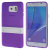 MOONCASE Samsung Galaxy Note 5 ЧЕХОЛ ДЛЯ Soft Silicone Gel TPU Skin With Bracket Protective Purple 01 чехол клип кейс samsung protective standing cover great для samsung galaxy note 8 темно синий [ef rn950cnegru]