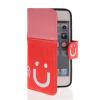 все цены на  MOONCASE Leather Side Flip Wallet Card Slot Pouch Stand Shell Back ЧЕХОЛДЛЯ Apple iPhone 5 5S Pink Red  онлайн
