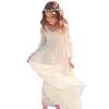 На складе Длинные платки Рубашки Кружева Цветочные девушки Платья 2018 Платья для вечеринки на длину для детей Пром платья Primera comunion
