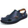 мужские сандалии тапочки натуральная кожа cowhide мужские летние туфли на открытом воздухе кожаные сандалии носки incanto носки мужские cot bu733001 nero