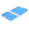 MOONCASE Huawei G7 Дело Желе Цвет силиконовый гель ТПУ Тонкий с подставкой обложка чехол для Huawei Ascend G7 синий